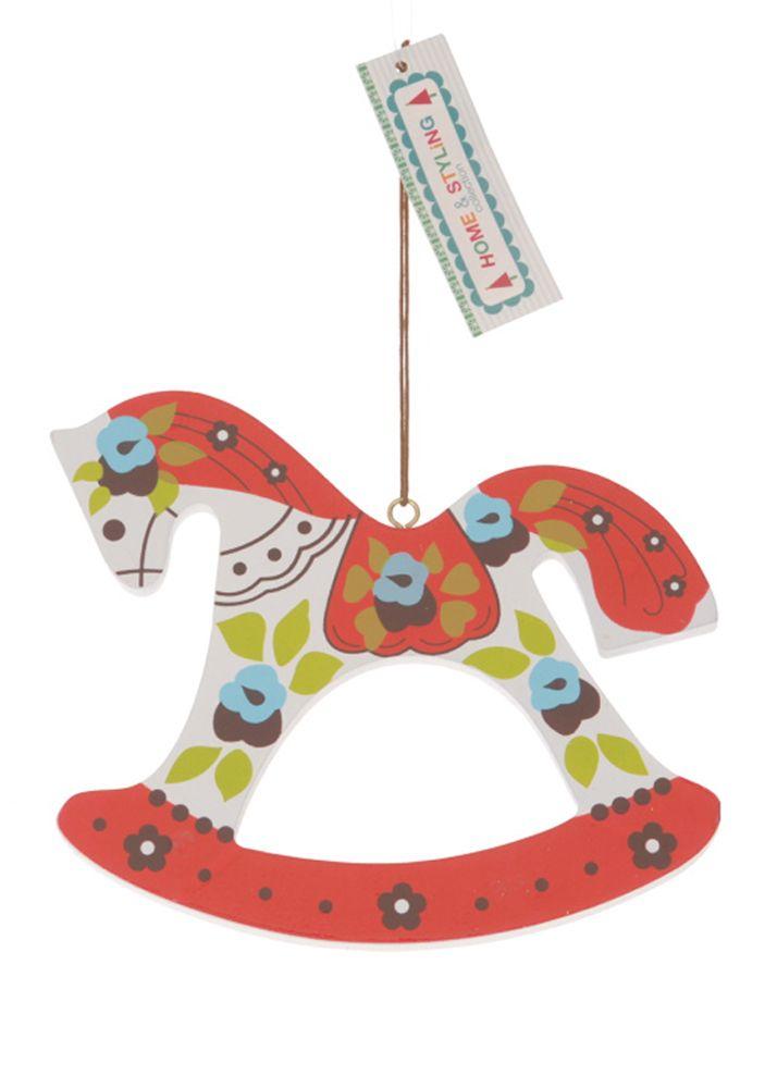 Wooden ornaments. Διακοσμητικό Χριστουγεννιάτικο ξύλινο στολίδι, 13 cm