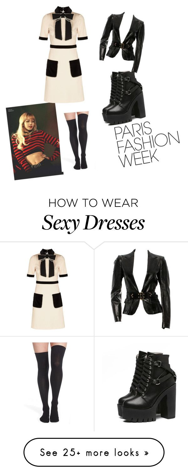 """""""Untitled #9"""" by blackpinkstan on Polyvore featuring Gucci, Nordstrom, parisfashionweek and Packandgo"""