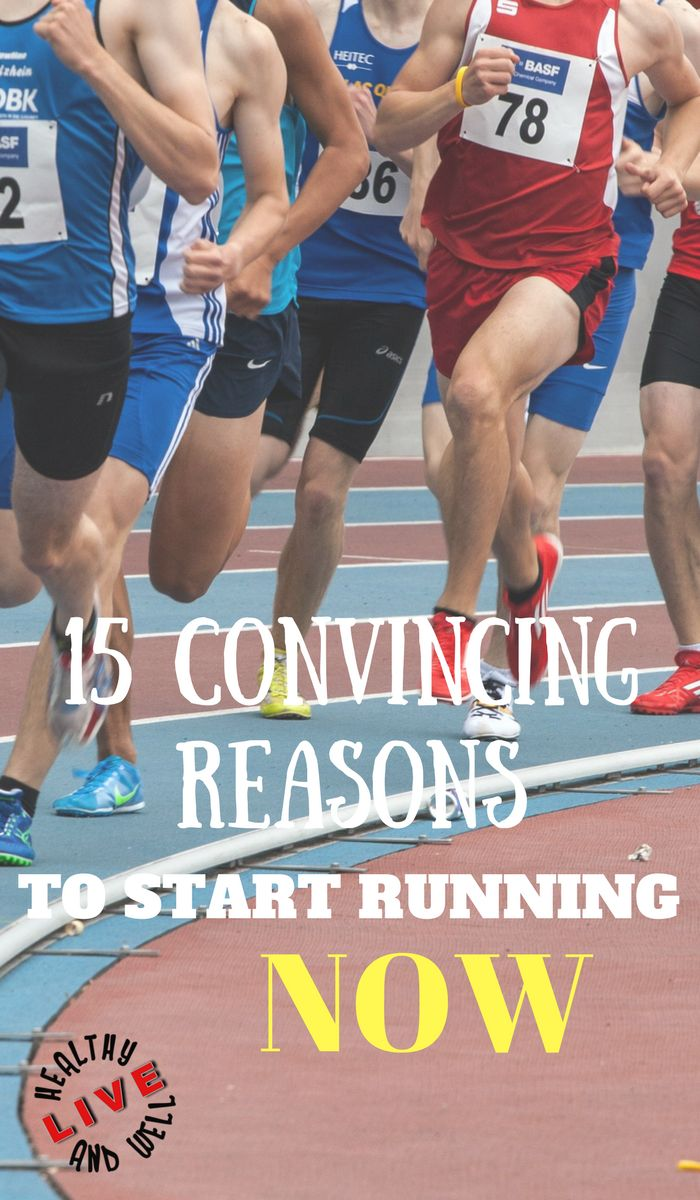Running is one of the best butt-kicking, calorie-blasting workouts around. Here are 15 reasons to hit the ground running. #running #jogging