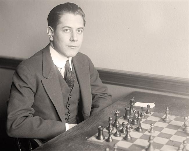 Capablanca, Jose R. Cuban Chess Player; World Champion. 1915