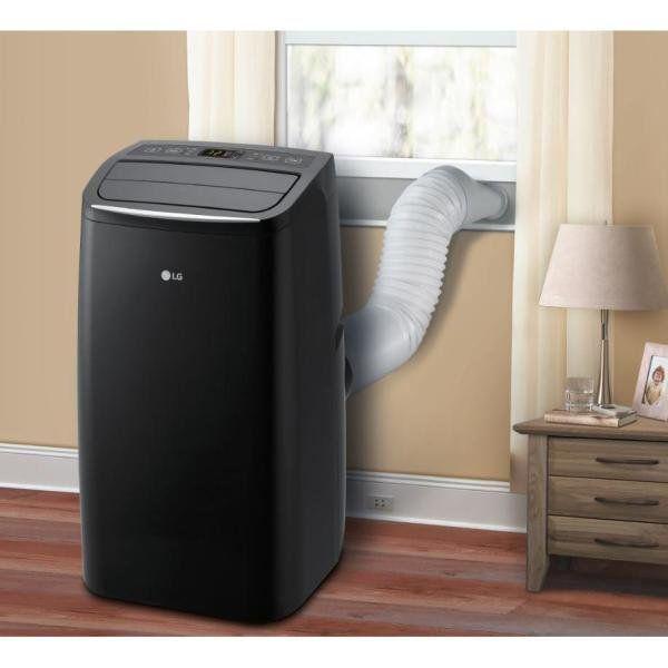 Lg 7 000 Btu 12 000 Btu Ashrae Portable Air Conditioner 115 Volt W Dehumidifier Function Factory Refurbished Walmart Com In 2020 Portable Air Conditioner Dehumidifiers Portable Ac Unit
