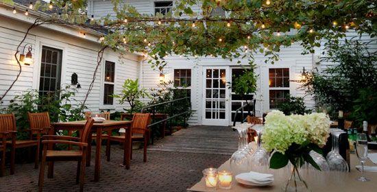 Courtyard at Tavern