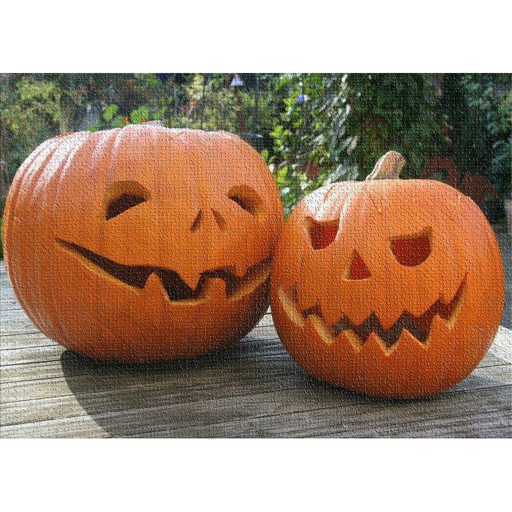 East Urban Home Pumpkin Cotton Orange Area Rug Pumpkin Carving Scary Pumpkin Carving Pumpkin Carving Patterns Free
