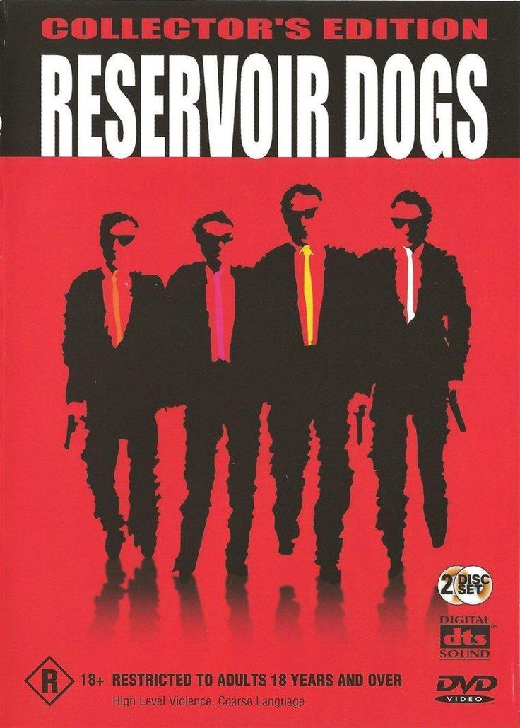 Reservoir Dogs Collector's Edition (DVD, 2003, 2 Discs) As New Quentin Tarantino #DVD #Movies