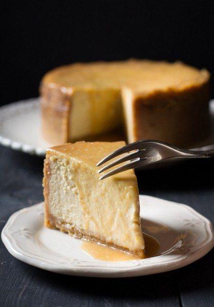Карамельный чизкейк | Кулинарные Рецепты