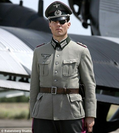 """Tom Cruise in Valkyrie,""""what rubbish,I can't believe Hitler got elected!"""" Some of Hitler's officers hated what was done to the Jews and tried to overthrow Hitler using trickery to have the army fighting itself."""
