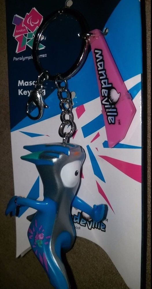 London 2012 NEW Mandeville Paralympic Games Mascot Keychain #ParalympicGames
