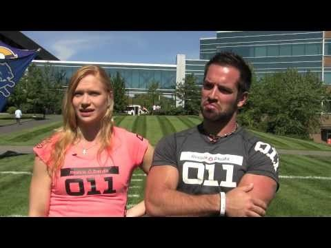 2012 CrossFit Games Champions Rich Froning and Annie Thorisdottir visit ESPN