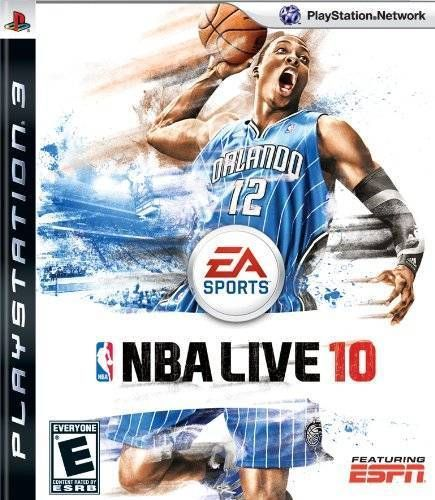 NBA Live 10 - PS3 Game