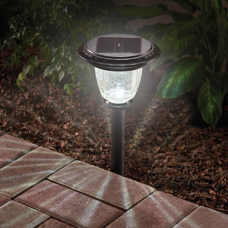 The Best Solar Walkway Light.  This solar walkway light proved to be The Best in tests conducted by the Hammacher Schlemmer Institute because it produced the brightest, most expansive light.  http://www.hammacher.com/Product/Default.aspx?sku=83623=Outdoor-Living-New-Arrivals=1729