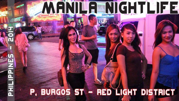 Manila Philippines Nightlife - Makatis P Burgos Street -6741