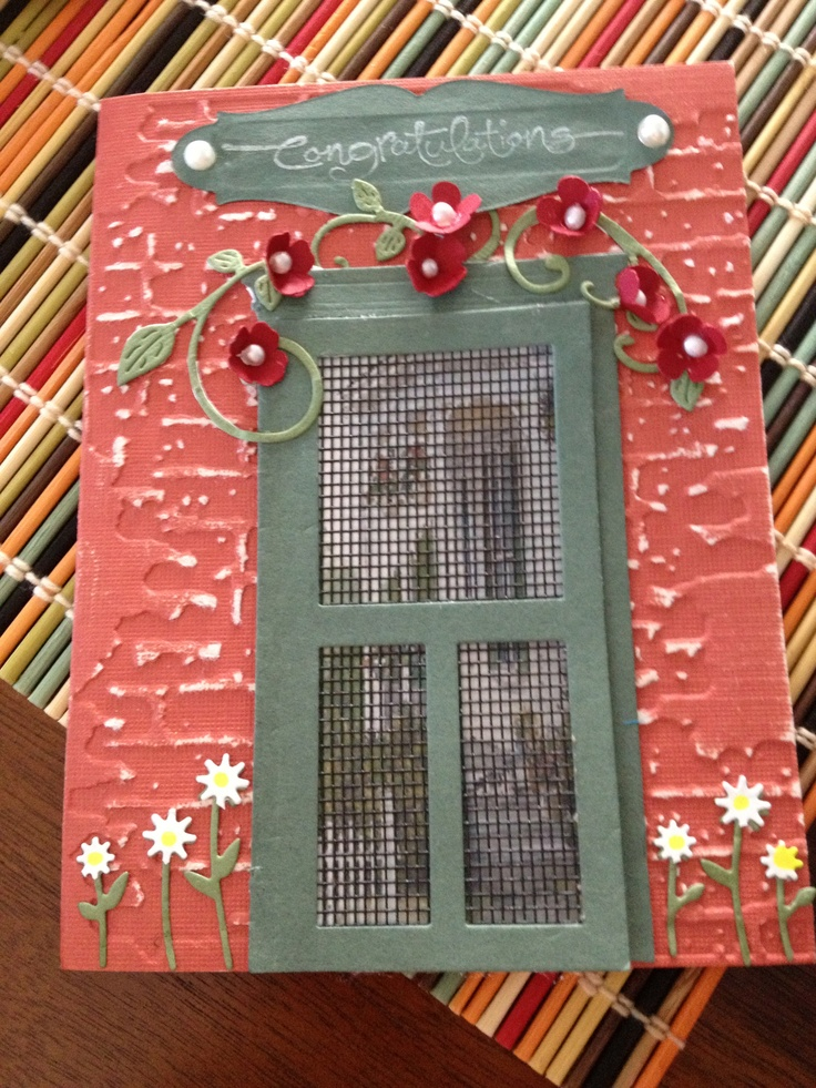 New home congratulations used recycled window screen for for House window screens