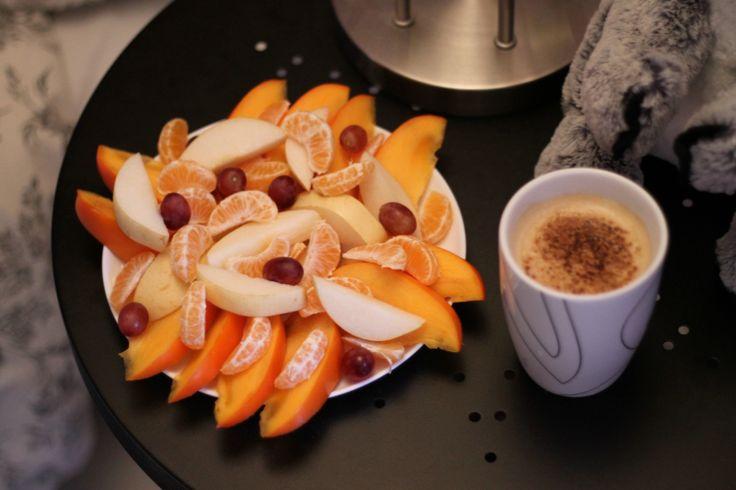 A fresh fruit platter