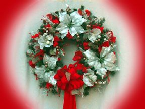 Another Cristmas Wreath from callalillies