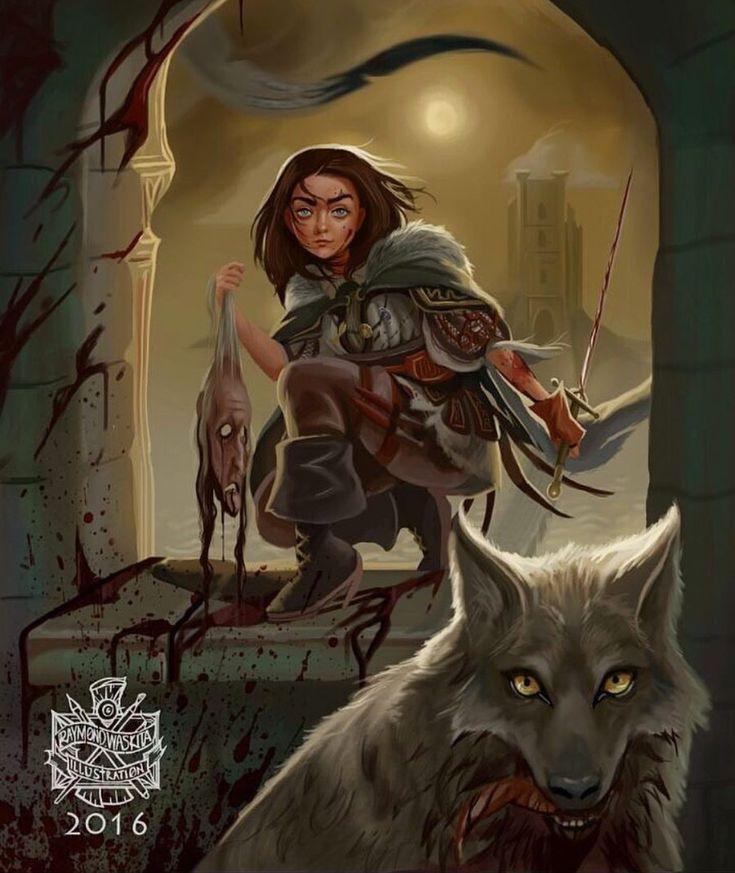 Arya, Nymeria