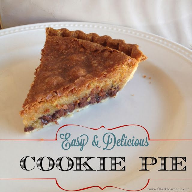 Easy & Delicious Cookie Pie | simplykierste.com