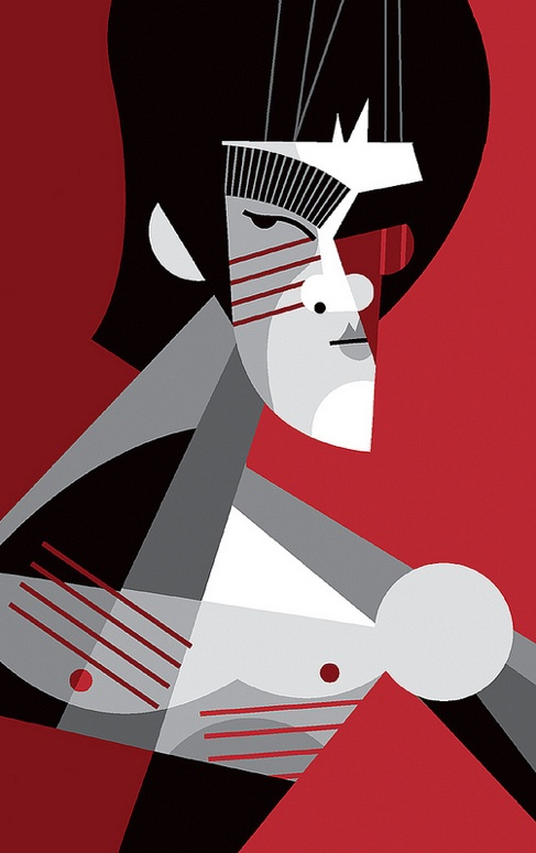 Bruce Lee by Pablo Lobato