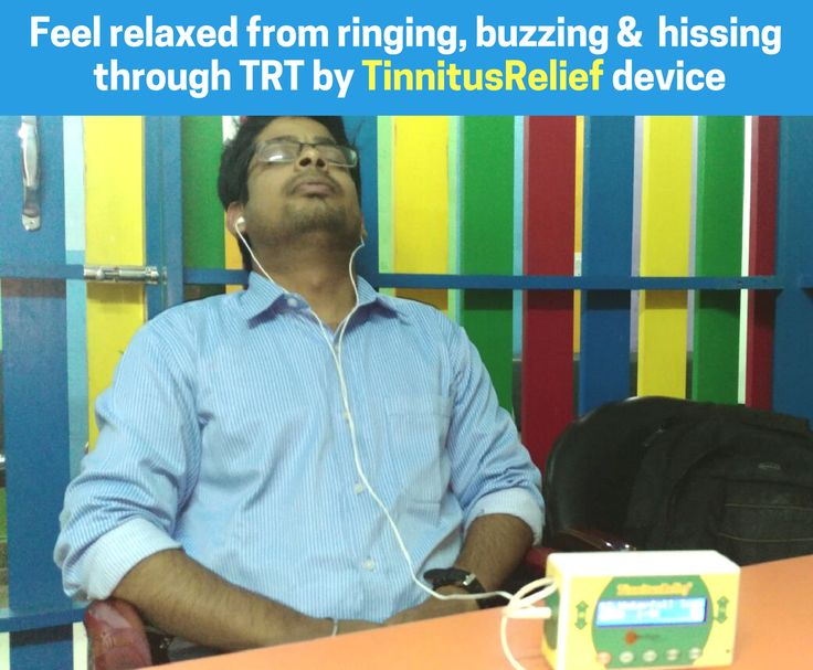 Feel relaxed from ringing, buzzing & hissing sounds in ears through TRT (Tinnitus Retraining Therapy) by #TinnitusRelief device.  For more info, visit http://innoflaps.com/tinnitusrelief/ Mail us at info@innoflaps.com Call/WhatsApp - 9891182864