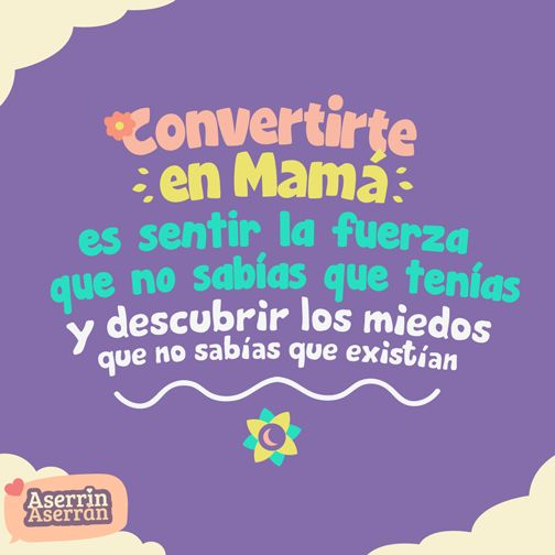 Convertirse en mamá es uno de los grandes momentos de toda mujer. #bebé #maternidad #embarazo #frases