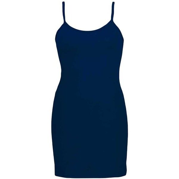 BKE Extra Long & Lean Tank Top - Blue X-Small ($14) ❤ liked on Polyvore featuring tops, blue, extra long tank, strappy tank top, extra long tank tops, strappy tank and blue tank