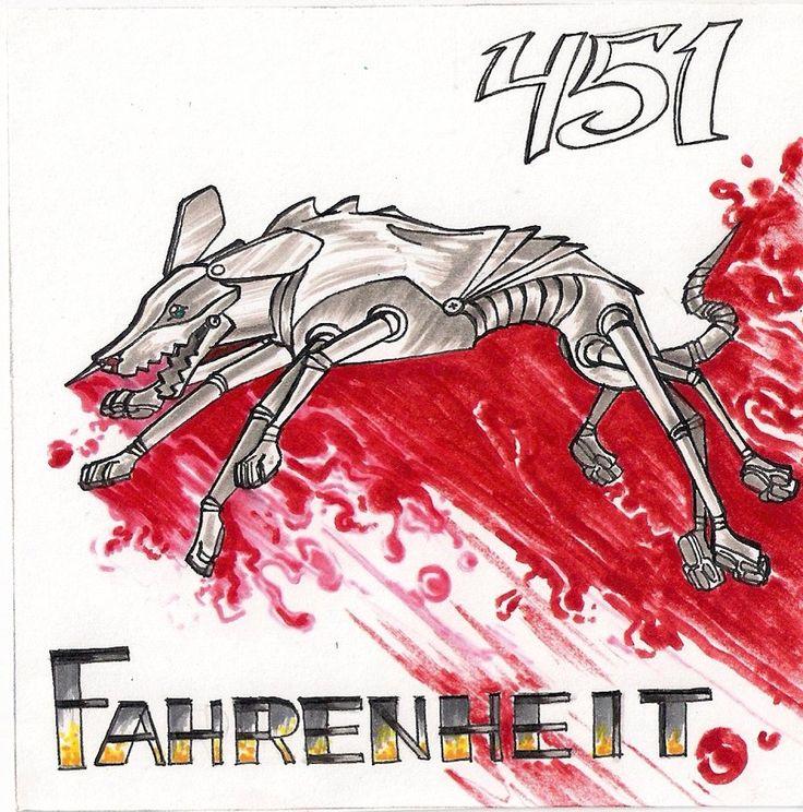 9 best Fahrenheit 451 images on Pinterest   Fahrenheit 451 ...  Fahrenheit 451 Mechanical Hound Movie