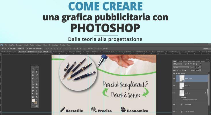 Come creare una grafica pubblicitaria con Photoshop [Videocorso]
