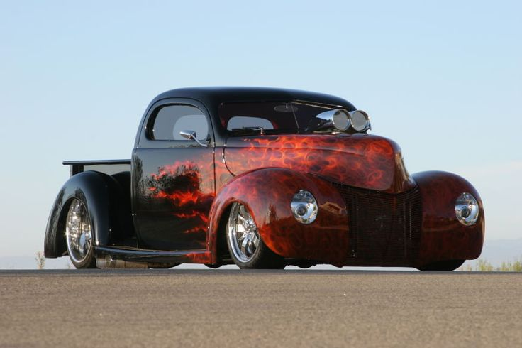 Randy Palmer's Ford Pickup hot rods Pinterest