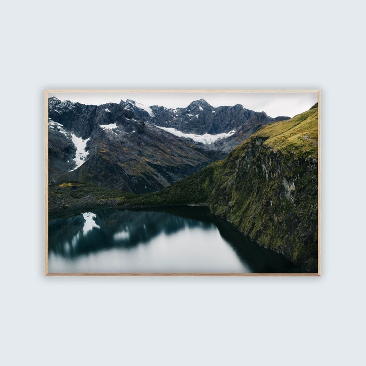 Original archival quality giclee print entitled 'South' by photographer Brooke Holm.