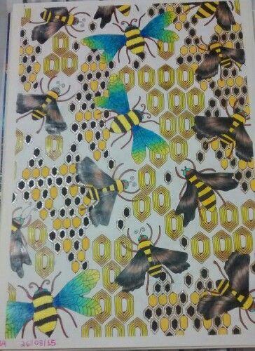 """Vigésima quarta ilustração de """" O livro anti-insônia"""". The can't Sleep Colouring Book ( Creative Colouring for Grown-Ups."""