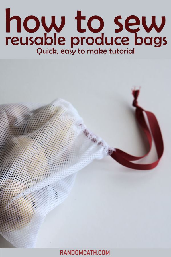 How to sew reusable bags   – Zero Waste Crafts – Upcycle/Repurpose/Recycle DIYs