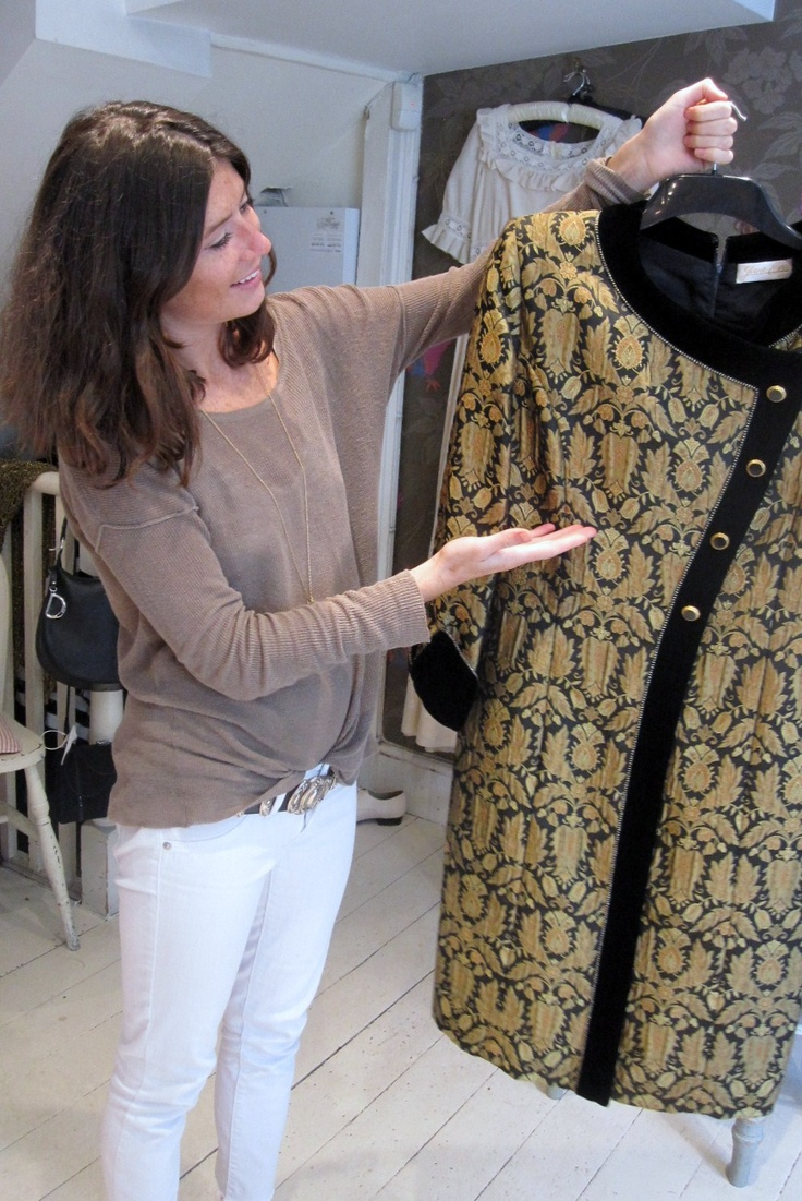 "Charlie's favourite item this week:-  ""Jane Eva Baroque velvet evening jacket- very on trend with Eastern style AW 2012- wear it with black jeans and t-shirt or keep it simple and let the coat do the talking!"" £65"