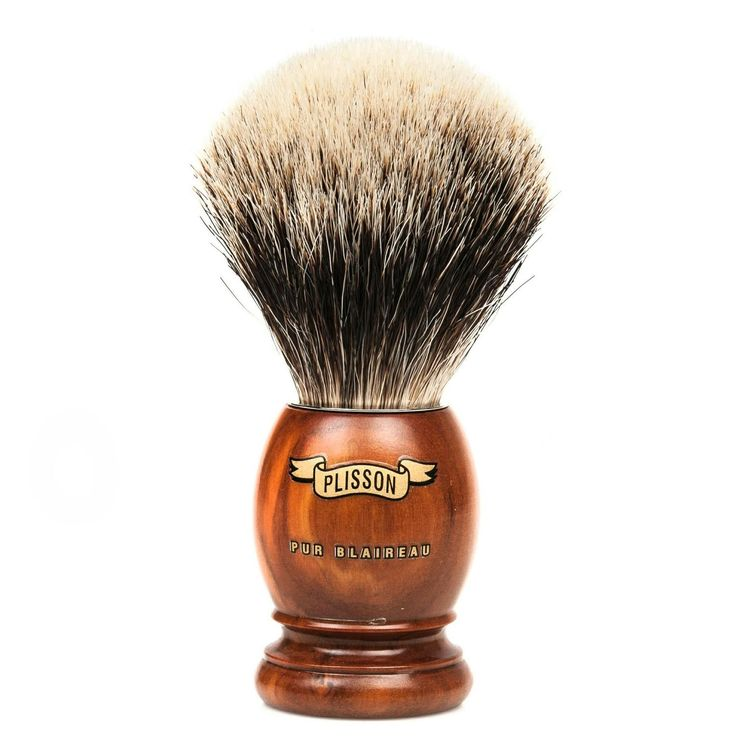 Olive Wood Shaving Brush by Plisson. Plisson brushes are handmade in France using largely the same techniques they have employed for over 200 years. The olive wood handle has a nice natural feel. Click image for details. #FathersDay #gifts #giftideas #giftshop #YVR #Vancity #vancouver #fashion #gentleman #menswear #luxury #plisson #quality #toileteries #face #body #shaving #shavingkit #beard #moustache #facialhair #badgerbristle #madeinfrance #olivewood
