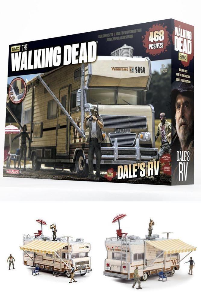 The Walking Dead TV Dale/'s RV Set McFarlane Toys Construction Sets