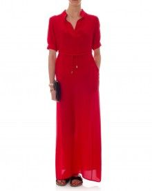 Ruby Maxi - Garnet Red.Kate Sylvester.