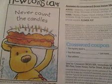 Newton Never Count the Candles The World of Cross Stitching Issue 189 May 2012 Saved