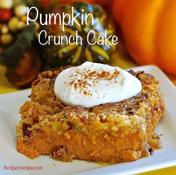 17 Best ideas about Pumpkin Crunch Cake on Pinterest ...
