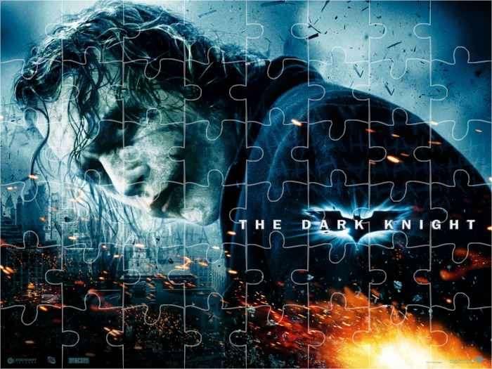 2 rompecabezas interactivos de 12 y 35 piezas: Batman – The Dark Knight #rompecabezas