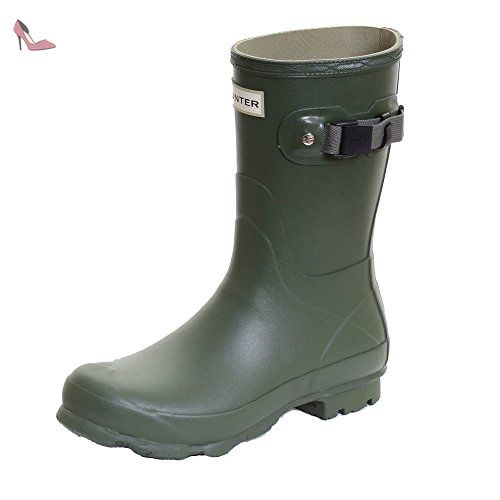 Hunter Norris Field Short Ladies Boot UK7 EU40/41 US9 Vintage Green -  Chaussures hunter