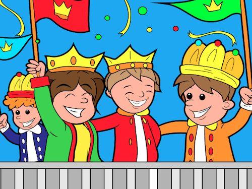 Koningsdag kleurplaten