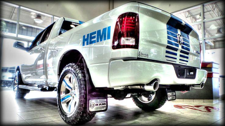 SOLD!  Customized #Hemi powered 2014 RAM 1500 Sport with a Derrick Dodge Custom Truck #DDCT touch