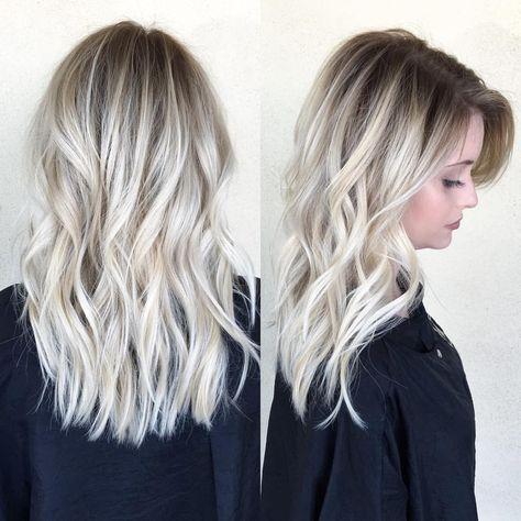 Ein Schönes Blondes Haar Für Den Schwarzen Mann