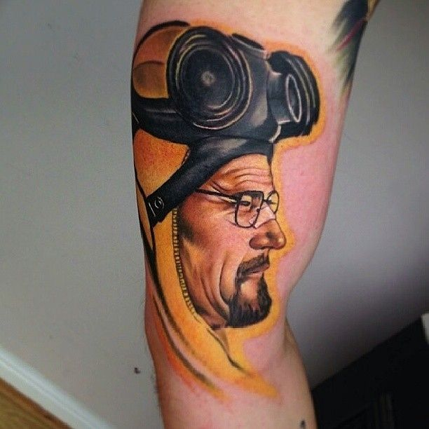 20 Scarily Accurate Walter White Tattoos