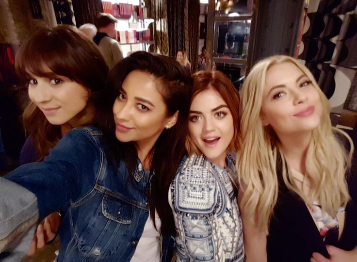 Troian, Shay, Lucy and Ashley