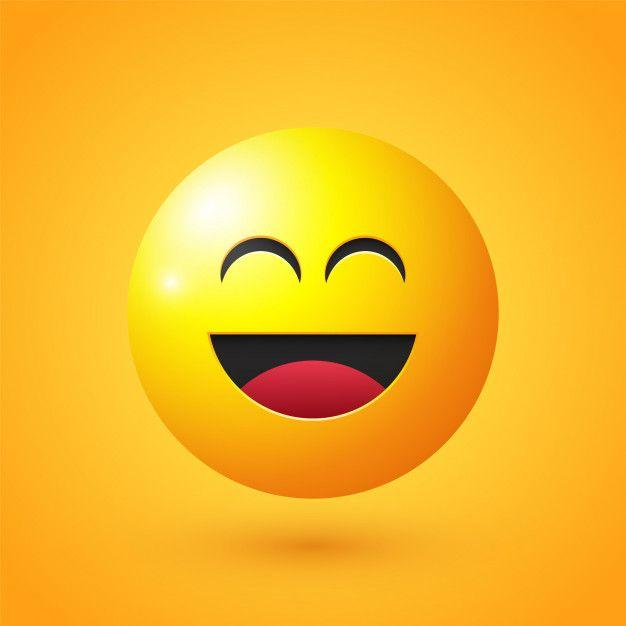Emoji Cara Sonriente Vector Premium Premium Vector Freepik Vector Personas Circulo Caracter Dibujos Animados Emoji Cara Sonriente Sonriente