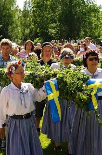 Hannu På Kinnekulle: Midsommar
