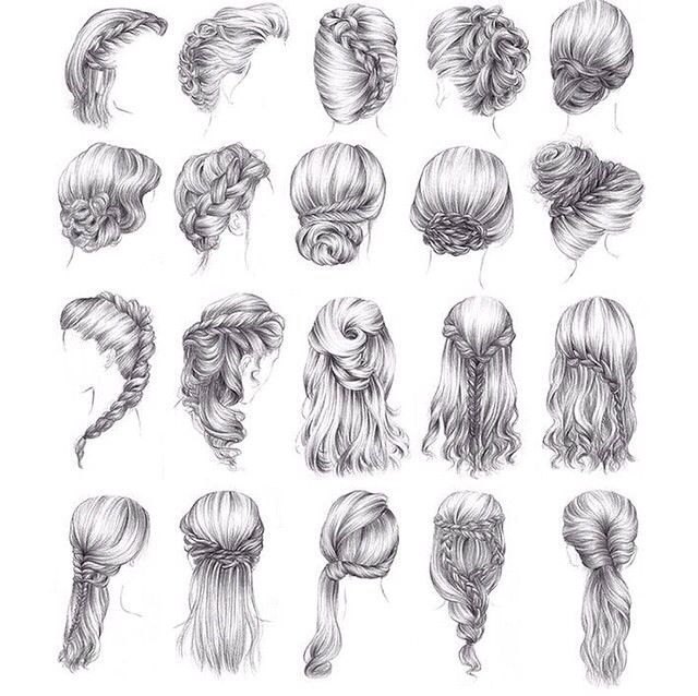 Cartoon, Cute cartoon and Hairstyles on Pinterest