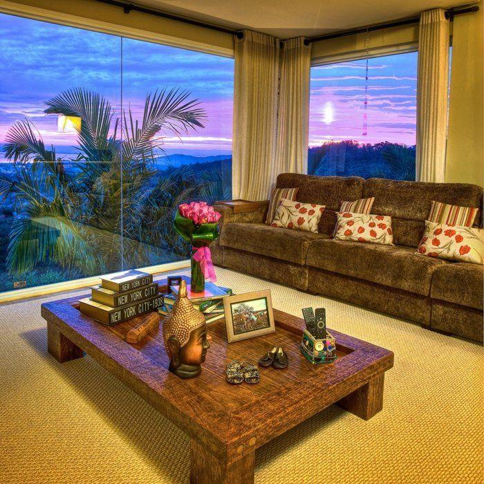 Les 20 meilleures id es de la cat gorie salons tropicales for Deco sejour tropical