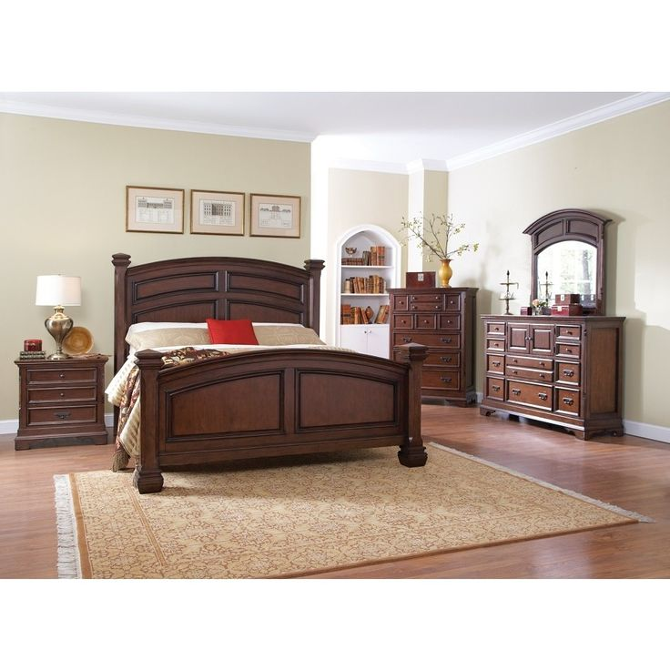 Savannah Cherry Bedroom Set
