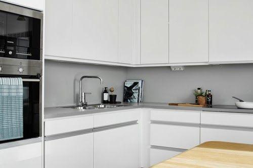 #interior #decor #styling #scandinavian #kitchen #white #grey #minimalist