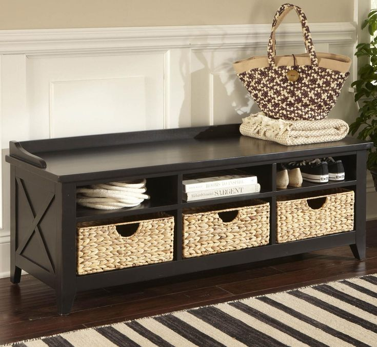 1000 Ideas About Wooden Bench With Storage On Pinterest